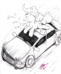 afterhumanity333 car pinkie_pie