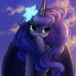 flowers highres katputze princess_luna