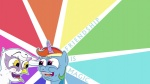 :gonk: artist_unknown gilda rainbow_dash wallpaper