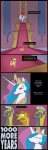 applejack comic equestria-election guard_pony highres princess_celestia royal_palace trollestia