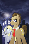 derpy_hooves sonic_screwdriver tardis time_turner tonyfleecs