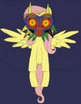 artist_unknown crossover fluttershy majora's_mask the_legend_of_zelda