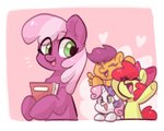 apple_bloom cheerilee colorfulcolor233 cutie_mark_crusaders scootaloo sweetie_belle