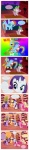 applejack armor comic fluttershy highres main_six pinkie_pie rainbow_dash rarity russelh twilight_sparkle