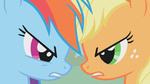 applejack gnintendo highres rainbow_dash svg vector