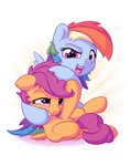 bobdude0 highres rainbow_dash scootaloo