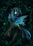 changeling highres okapifeathers queen_chrysalis