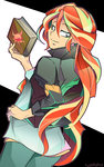 book equestria_girls highres humanized sunset_shimmer tyuubatu
