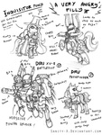 crossover inquisitor lineart ponified sanity-x warhammer_40k weapon