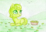 0okami-0ni basket filly flowers highres junebug traditional_art