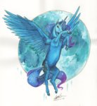 princess_luna sagastuff94 traditional_art