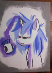 bedhead coffee painting techtygr vinyl_scratch