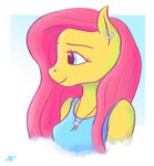 anthro flutterdash fluttershy isaak necklace shipping