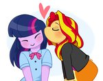 cuteosphere equestria_girls humanized shipping sunlight sunset_shimmer twilight_sparkle