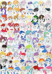 agamnentzar apple_bloom apple_cider applejack babs_seed berry_punch big_macintosh blossomforth button_mash cheerilee cloudchaser daisy daring-do derpy_hooves diamond_tiara dinky_hooves expression_chart flitter golden_harvest highres junebug lauren_faust_(character) lavender_fritter lemon_hearts lightning_dust lily_valley limestone_pie lyra_heartstrings marble_pie minuette ms_harshwhinny nurse_redheart octavia_melody original_character parents pinkie_pie princess_cadance princess_celestia princess_luna rainbow_dash raindrops rarity rose rumble scootaloo screwball shining_armor siblings spitfire sweetie_belle sweetie_drops tagme the_great_and_powerful_trixie thunderlane twilight_sparkle twilight_velvet twinkleshine vet_pony vidala_swoon vinyl_scratch wild_fire