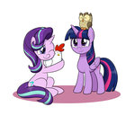 bird chicken highres mew-me owlowiscious princess_twilight starlight_glimmer twilight_sparkle