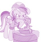 daring-do dstears rainbow_dash statue