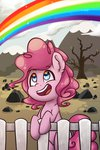 absurdres filly gumlball highres pinkie_pie rock_farm sonic_rainboom