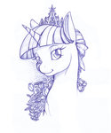 longinius-ii sketch twilight_sparkle