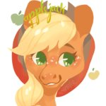 alabasterpeony applejack highres