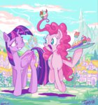 cake jowybean pinkie_pie princess_twilight twilight_sparkle