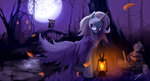 highres jokerpony lantern nighttime owl tears the_great_and_powerful_trixie