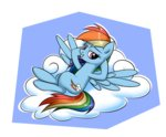 cloud rainbow_dash twilite-sparkleplz