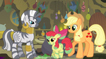 apple_bloom applejack cauldron immortaltanuki zecora