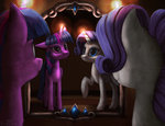 highres mirror rarity reflection robsa990 twilight_sparkle