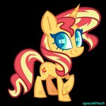 highres spacekitsch sunset_shimmer