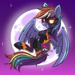 colorsoundz highres rainbow_dash shadowbolts
