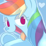 aosion highres rainbow_dash tongue