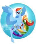 absurdres glastalinka highres rainbow_dash