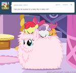 apple_bloom ask askflufflepuff fluffle_puff fluffy mixermike622 original_character ponypile scootaloo sleeping sweetie_belle