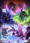 assasinmonkey highres king_sombra magic mare_in_the_moon moon nightmare_moon princess_twilight queen_chrysalis starlight_glimmer twilight_sparkle
