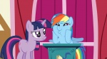 highres rainbow_dash shelltoontv twilight_sparkle vector wallpaper