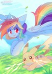 pekou pikachu pokemon rainbow_dash