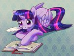 book princess_twilight puriponii quill twilight_sparkle