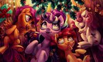 absurdres apple_bloom cutie_mark_crusaders highres holivi scootaloo starlight_glimmer sweetie_belle