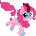cloudyglow highres kirin pinkie_pie species_swap vector