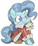 background_ponies costume lockhe4rt petunia_paleo pirate sword weapon