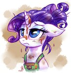 absurdres apron coffee highres rarity whitediamonds