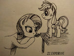 applejack plushie rarity sa1ntmax toy traditional_art