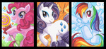 aiko-mustang pinkie_pie rainbow_dash rarity