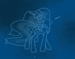 constellation lineart naroclie princess_luna space