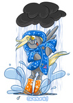 betweenfriends boots cloud coat derpy_hooves rain