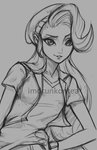 humanized imdrunkontea sketch starlight_glimmer