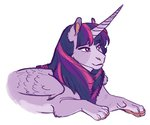 absurdres earthsong9405 highres princess_twilight species_swap sphinx twilight_sparkle