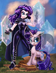 absurdres equestria_girls harwick highres humanized rarity species_confusion