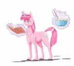 baking baroncoon book disguise highres magic pinkie_pie traditional_art twilight_sparkle